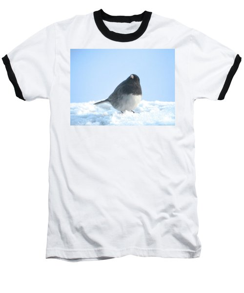 Snow Hopping #2 Baseball T-Shirt