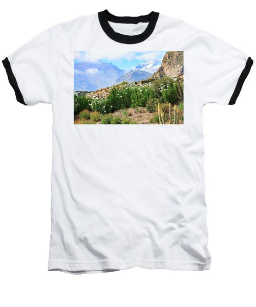 Snow In The Desert Baseball T-Shirt
