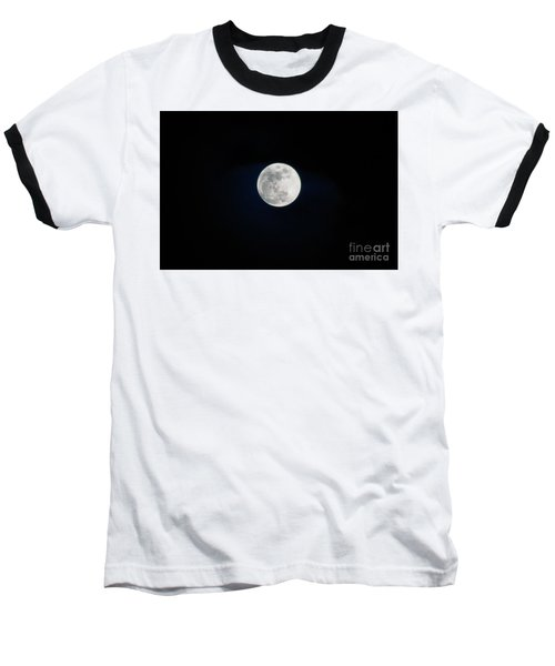 Snow Moon 4 Baseball T-Shirt