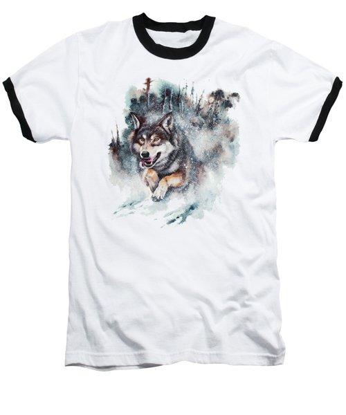 Snow Storm Baseball T-Shirt