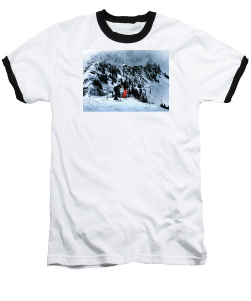 Baseball T-Shirt featuring the photograph Snowbird by Jim Hill