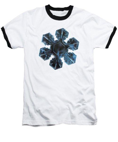 Snowflake Photo - The Core Baseball T-Shirt