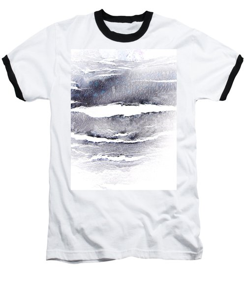 Baseball T-Shirt featuring the photograph Snowstorm In The High Country by Lenore Senior