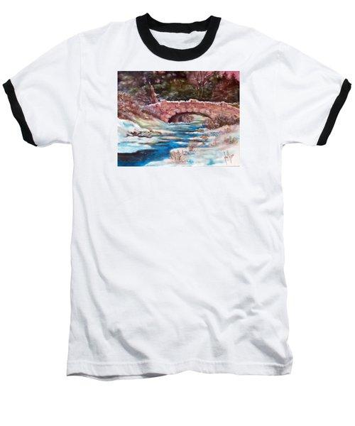 Snowy Creek Baseball T-Shirt by Jim Phillips