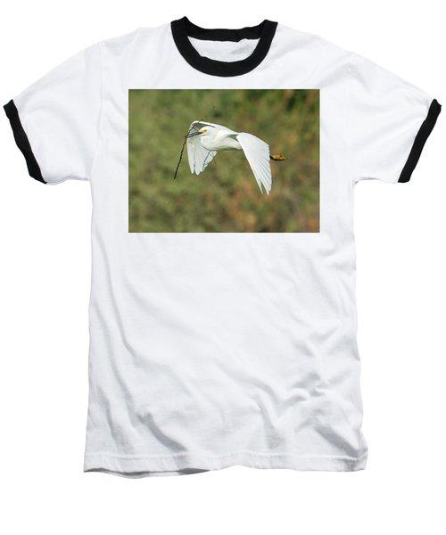 Snowy Egret 4786-091017-1cr Baseball T-Shirt