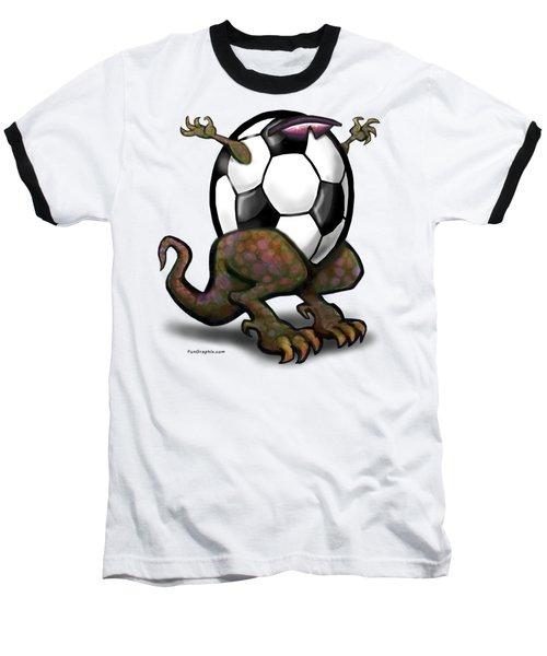 Soccer Zilla Baseball T-Shirt