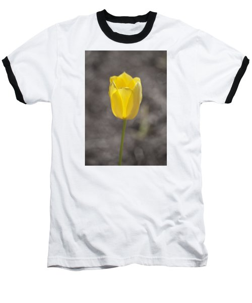 Soft And Yellow Baseball T-Shirt by Morris  McClung