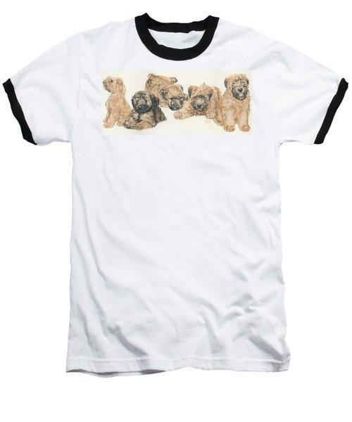 Soft-coated Wheaten Terrier Puppies Baseball T-Shirt