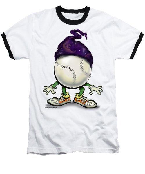 Softball Wizard Baseball T-Shirt