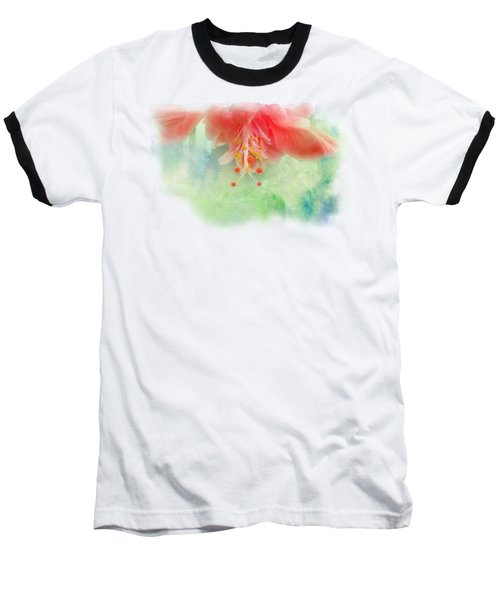 Softly Colored 1 Baseball T-Shirt