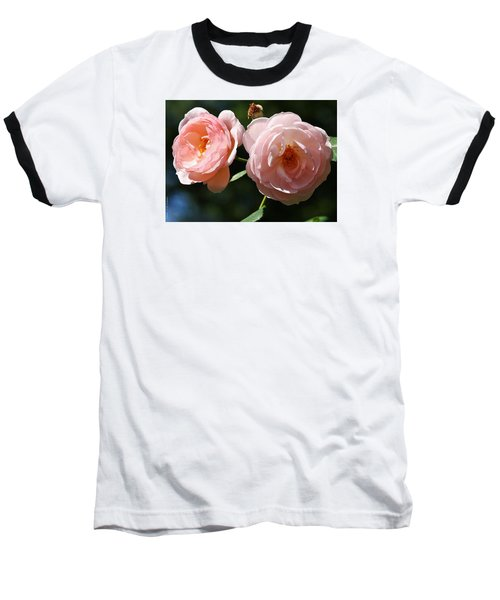 Baseball T-Shirt featuring the photograph Softly Pink by Al Fritz