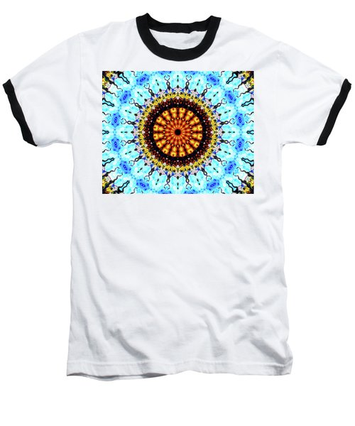 Baseball T-Shirt featuring the digital art Solar Flare 1 by Wendy J St Christopher
