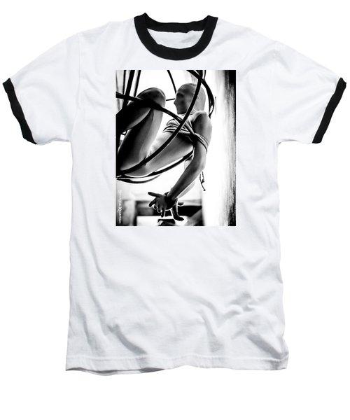 Baseball T-Shirt featuring the photograph Solar Jail by Stwayne Keubrick