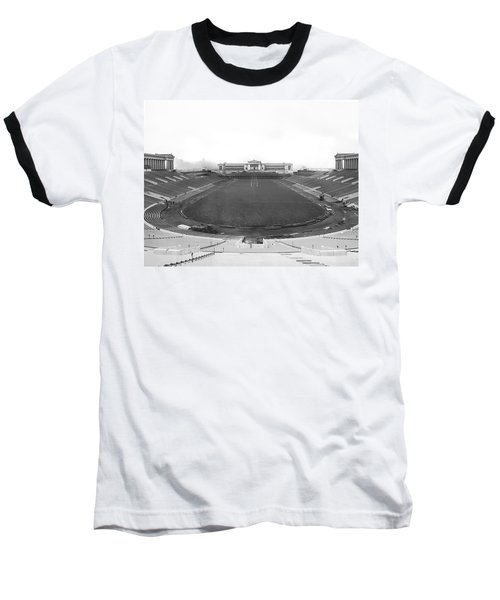 Soldier Field In Chicago Baseball T-Shirt by Underwood Archives