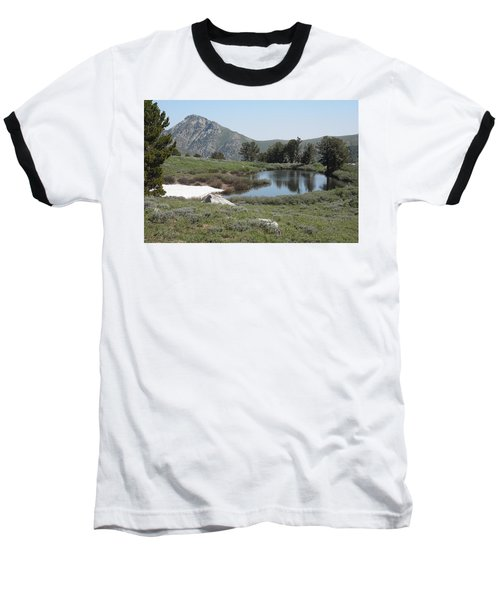 Baseball T-Shirt featuring the photograph Soldier Lake And Peak by Jenessa Rahn