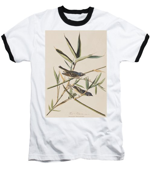 Solitary Flycatcher Or Vireo Baseball T-Shirt