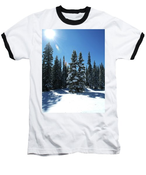 Some Where In Colorado Baseball T-Shirt