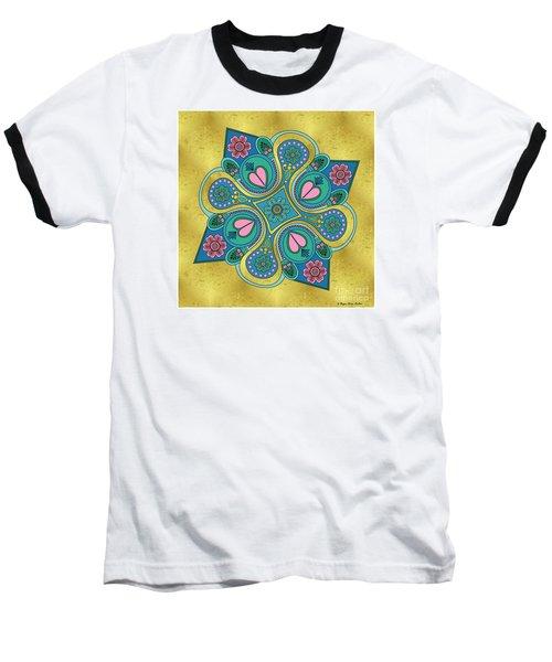 Something3 Baseball T-Shirt by Megan Dirsa-DuBois