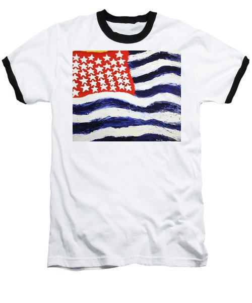 Something's Wrong With America Baseball T-Shirt