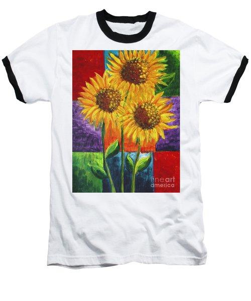 Sonflowers I Baseball T-Shirt