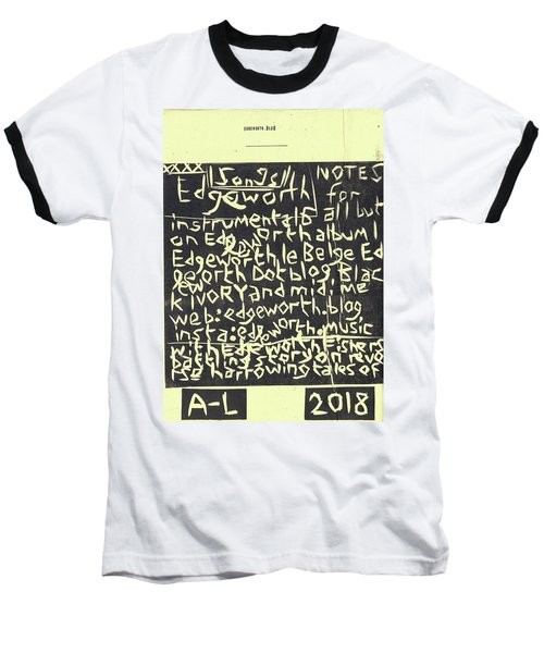 Song Notes Title Page A-l Baseball T-Shirt