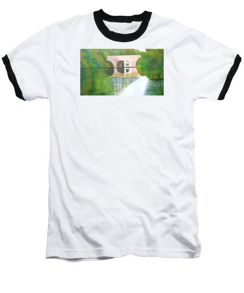 Sonning Bridge In Autumn Baseball T-Shirt