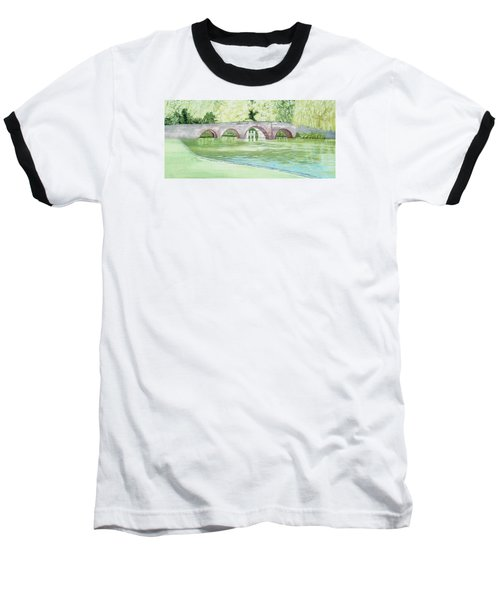 Sonning Bridge  Baseball T-Shirt by Joanne Perkins