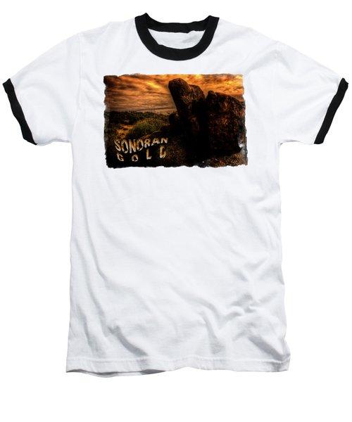 Sonoran Desert Early Morning Baseball T-Shirt