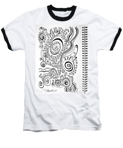 Sound Of The Lines Baseball T-Shirt