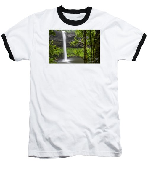 South Falls In Silver Falls State Park Baseball T-Shirt