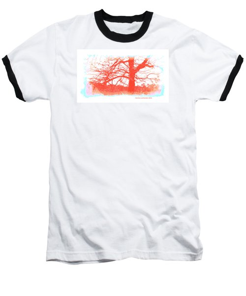 Baseball T-Shirt featuring the photograph South Texas Impression by Carolina Liechtenstein