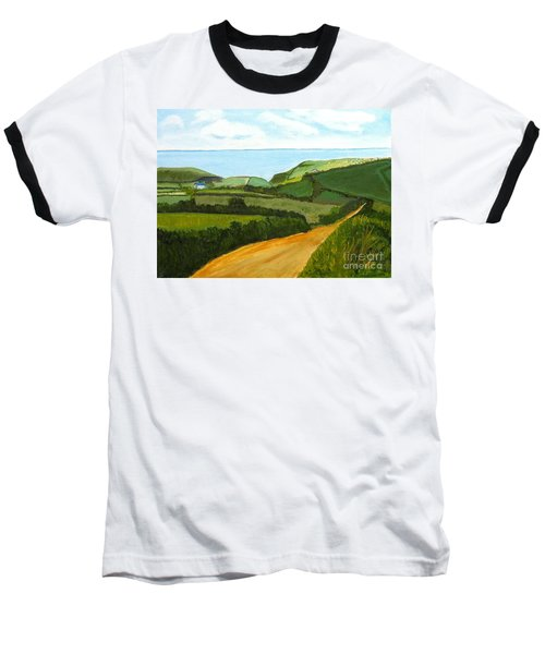 South West England Countryside Cotswold Area Baseball T-Shirt