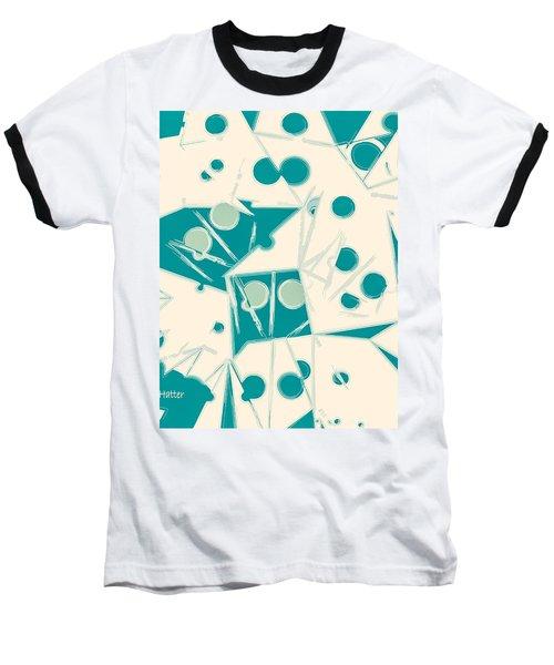 Space-time Baseball T-Shirt by Moustafa Al Hatter
