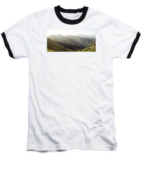 spanish mountain range, Malaga, Andalusia, Baseball T-Shirt