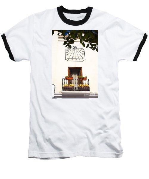 Spanish Sun Time Baseball T-Shirt