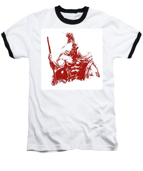Spartan Warrior - Battleborn Baseball T-Shirt
