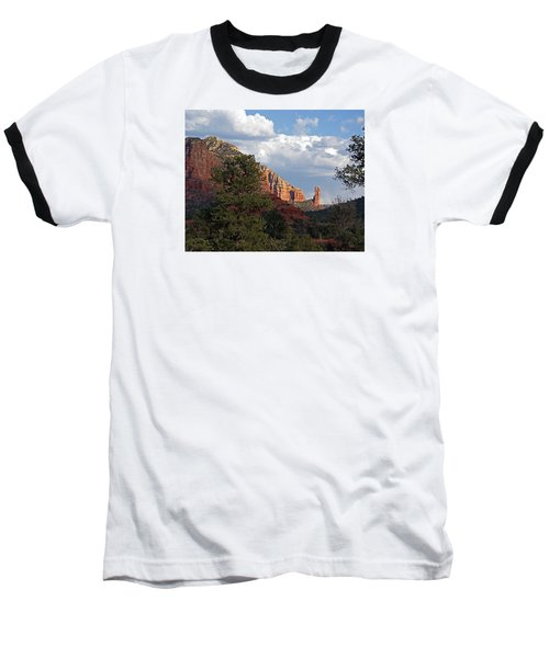 Baseball T-Shirt featuring the photograph Spectacle by Lynda Lehmann