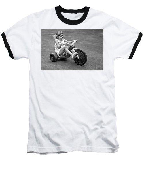 Speed Baseball T-Shirt by Alex Galkin