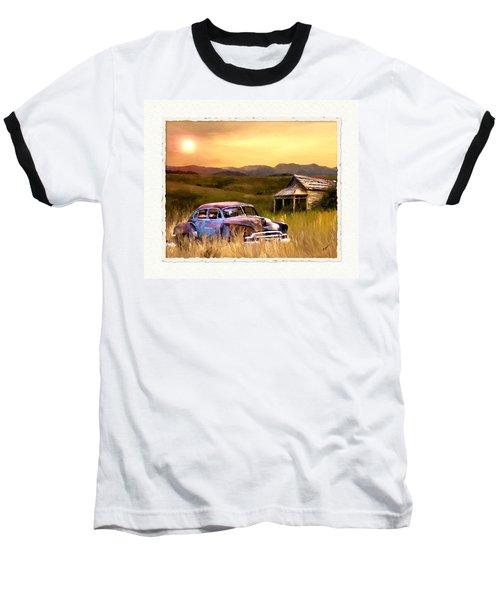 Spent Baseball T-Shirt by Susan Kinney