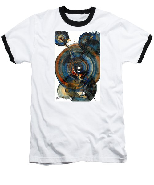 Baseball T-Shirt featuring the painting Spherical Joy Series 03.030211 by Kris Haas