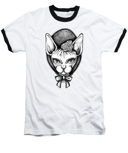 Sphynx Lady Baseball T-Shirt