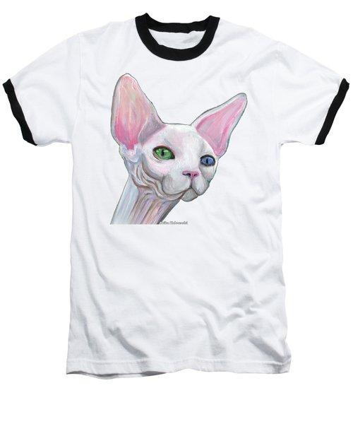 Sphynx2 Baseball T-Shirt by Akiko Okabe