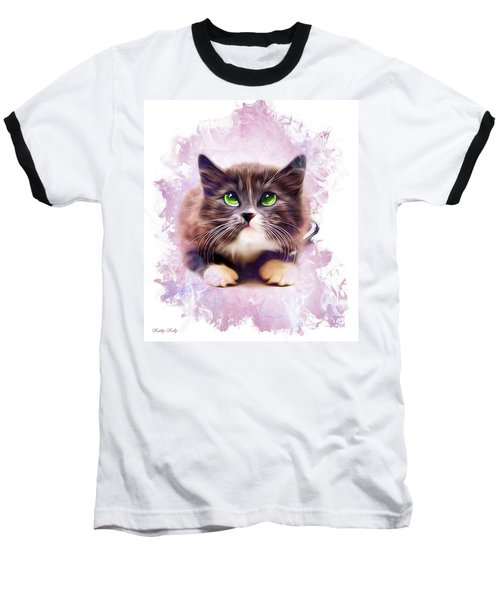 Spice Kitty Baseball T-Shirt