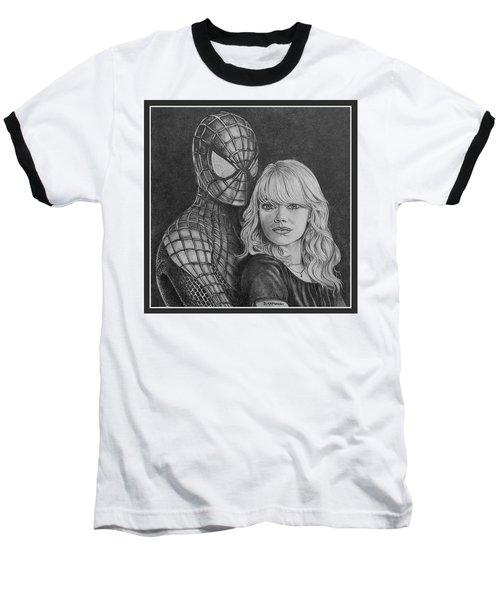 Spidey And Gwen Baseball T-Shirt