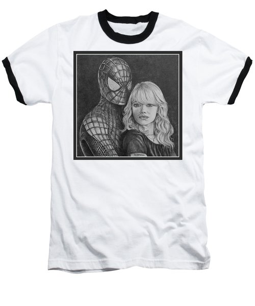 Spidey And Gwen Baseball T-Shirt