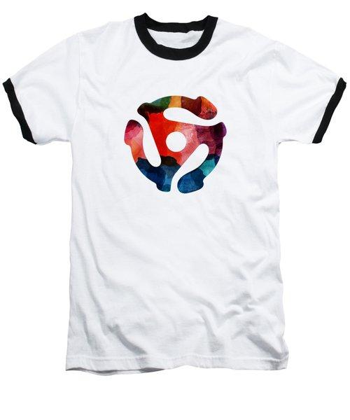 Spinning 45- Art By Linda Woods Baseball T-Shirt