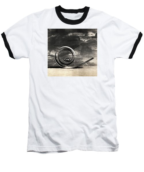 Baseball T-Shirt featuring the photograph Spiral And Ball by Andrey  Godyaykin