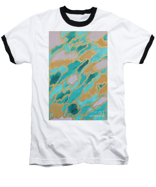 Spirit Journey Baseball T-Shirt by Rachel Hannah