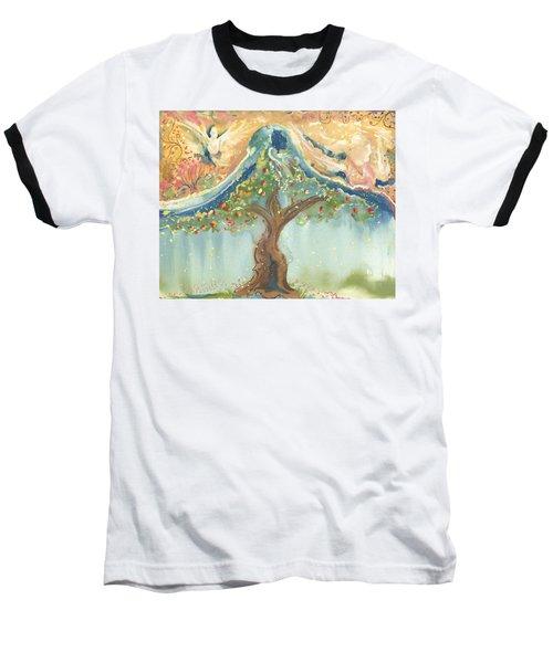 Spiritual Embrace Baseball T-Shirt