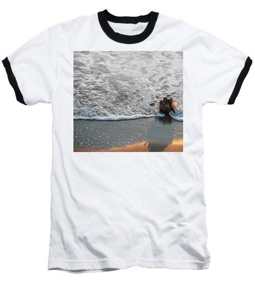 Splash Baseball T-Shirt by Glenn Gemmell
